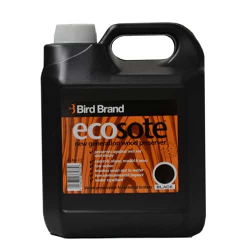 Ecosote Black Eco-Friendly Wood Preserver