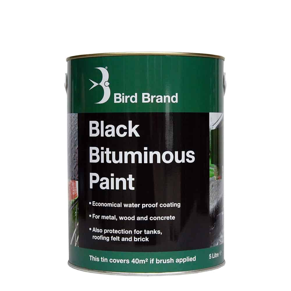 Black Bitumen, Bituminous Paint