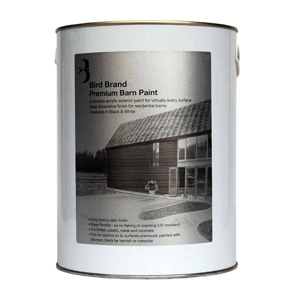Premium barn paint black bird brand for Hplv paint sprayer