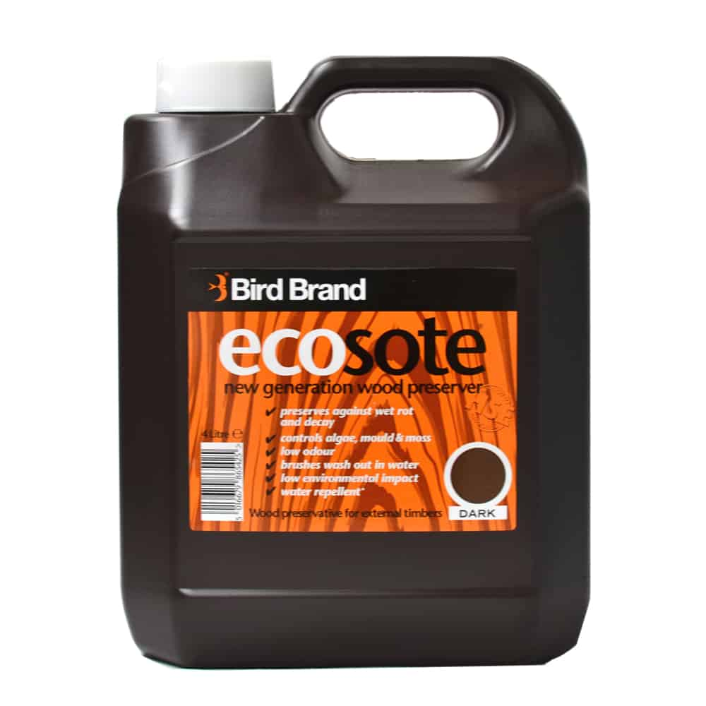 Ecosote Dark Eco-Friendly Wood Preserver