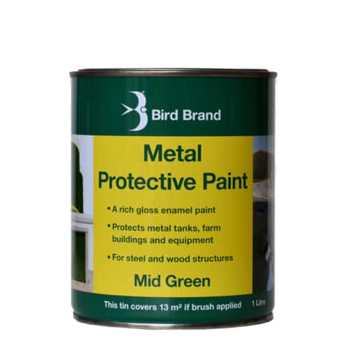 Metal Protective Paint Mid green