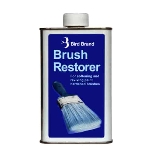 Paint brush restorer
