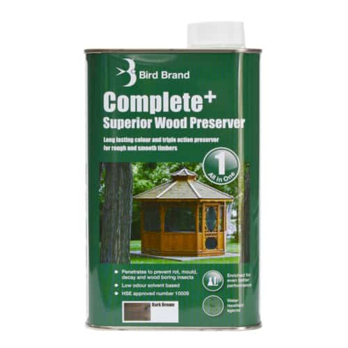 Complete Plus Superior Wood Preserver Dark Brown