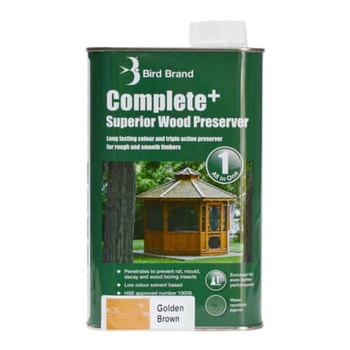 Complete Plus Superior Wood Preserver Golden Brown