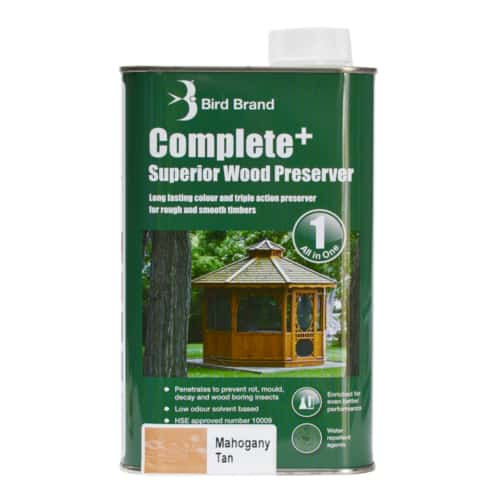 Complete Plus Superior Wood Preserver Mahogany Tan