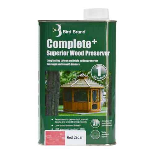 Complete Plus Superior Wood Preserver Red Cedar