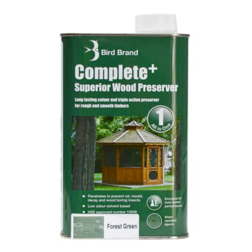 Complete Plus Superior Wood Preserver Forest Green