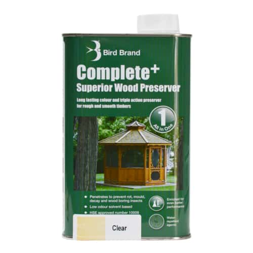 Complete Plus Superior Wood Preserver Clear