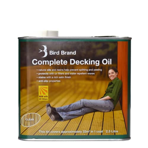 Complete Decking Oil Clear
