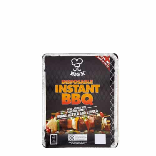 Instant Disposable BBQ