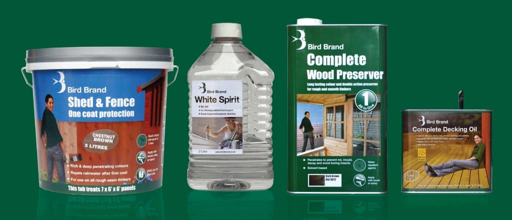 Bird Brand products range